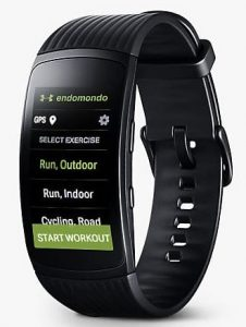Samsung Gear Fit 2 Pro officiel