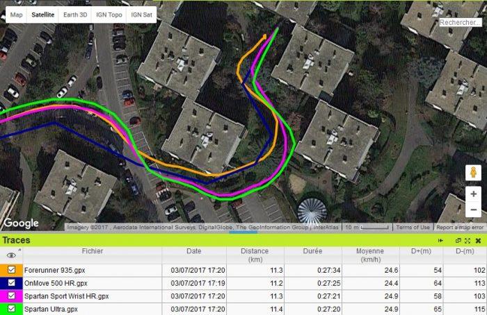Spartan Sport Wrist HR GPS très difficile