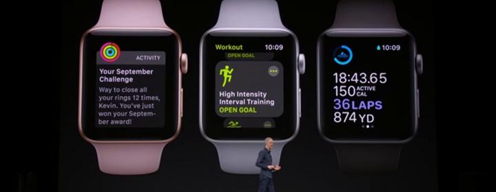 Apple Watch 3 fonctionnalités sport