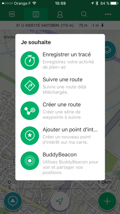 Créer route ViewRanger