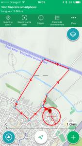Itinéraire ViewRanger 2