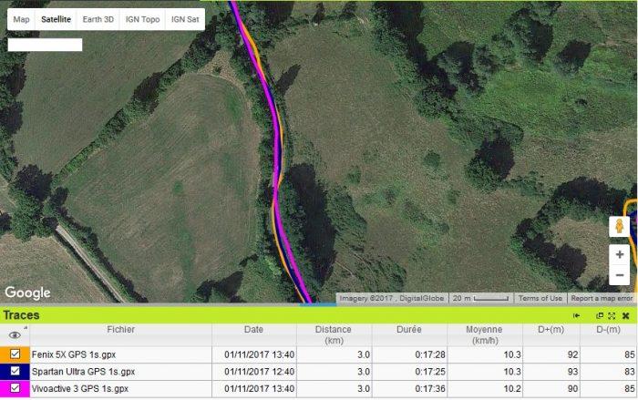 Trace GPS OK
