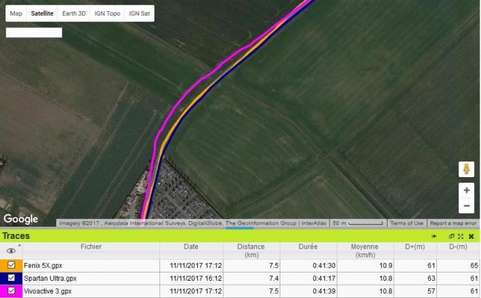Vivoactive 3 GPS champs
