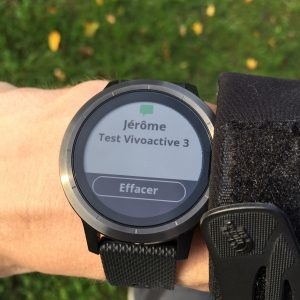 Vivoactive 3 smart notification