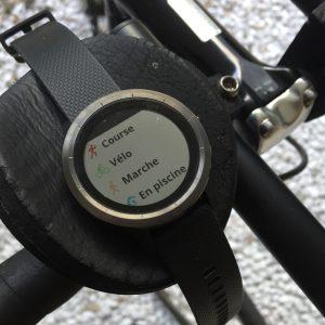 Vivoactive 3 vélo