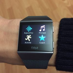 Applications Fitbit Ionic