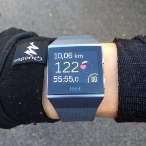 Fitbit Ionic running