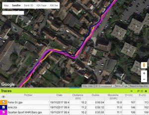 Ionic précision GPS ville