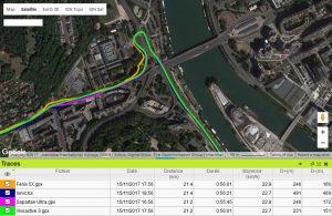 Précision GPS Ionic vélo