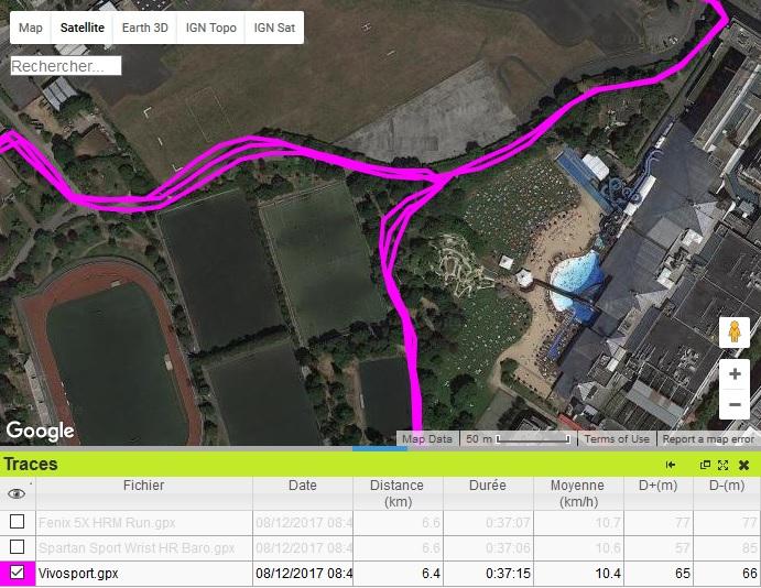 GPS Vivosport 3 boucles