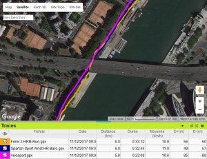 GPS sous pont