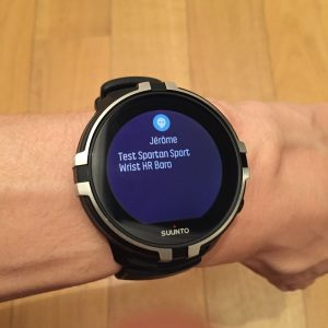 Spartan Sport Wrist HR Baro smart notifications