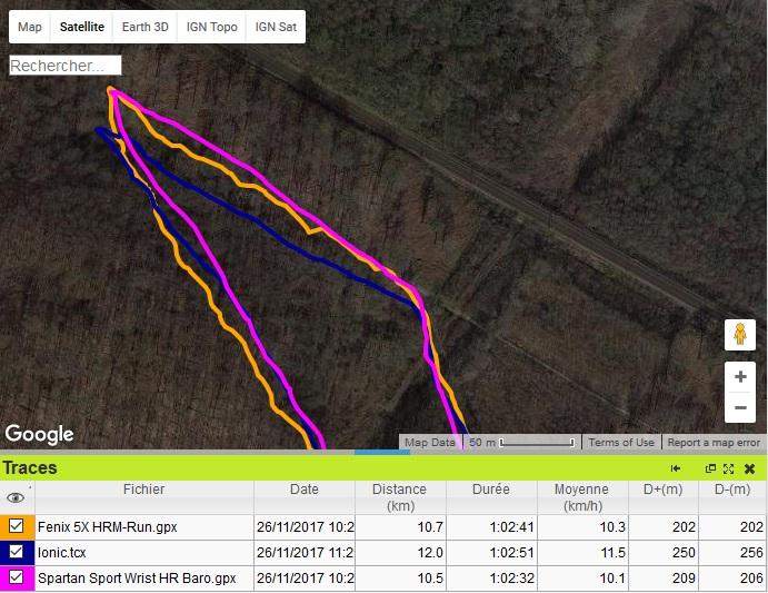 Spartan Sport Wrist HR baro trace GPS forêt