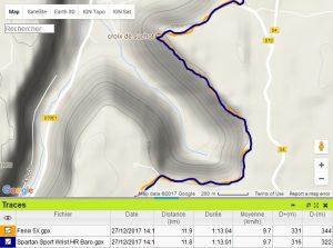 Trace GPS 3D Spartan Sport Wrist HR Baro