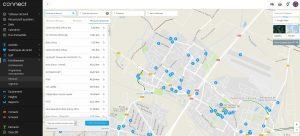 Garmin Connect carte parcours