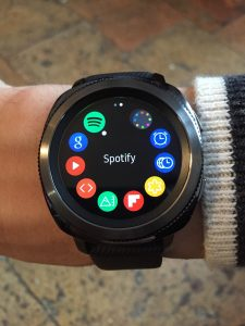 Samsung Gear Sport applications