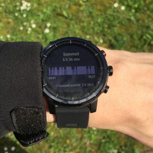 Amazfit Stratos tracker activité