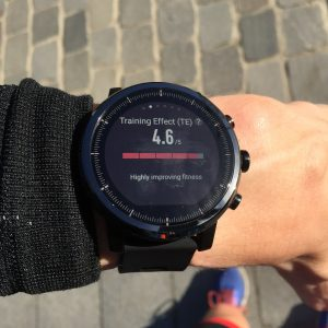 Amazfit Stratos triathlon