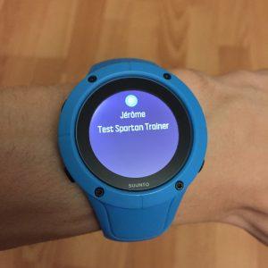 Spartan Trainer montre connectée