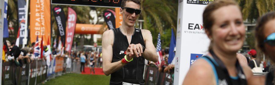 Arrivée triathlon Cannes