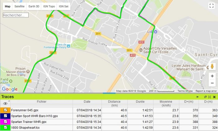 Forerunner 645 GPS vélo