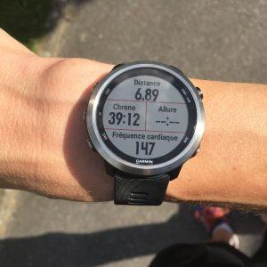 Forerunner 645 running