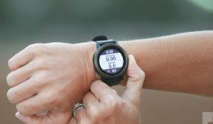 Montre GPS petit poignet femme