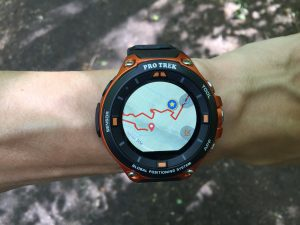 Protrek Smart cartographie