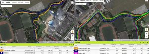 Trace GPS Forerunner 645