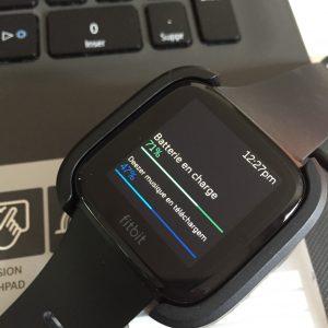 Fitbit Versa lecteur musique