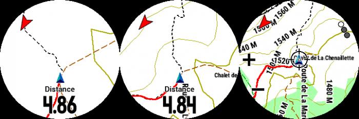 Carte Frikart montagne