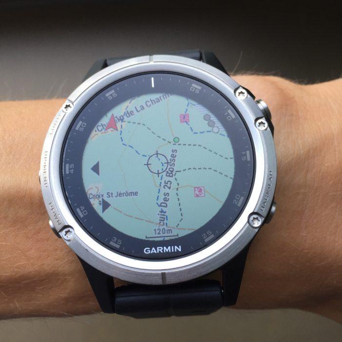 Fenix 5 Plus cartographie