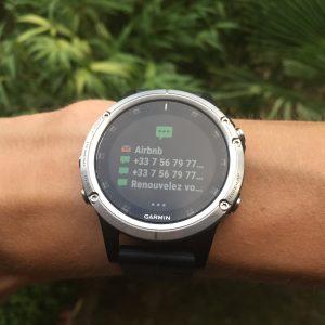 Fenix 5 Plus montre connectée