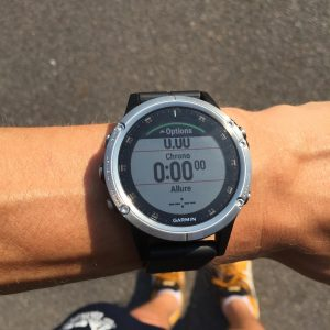 Fenix 5 Plus running