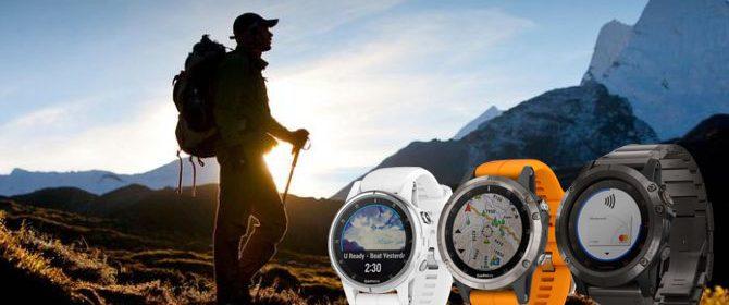 Montre GPS randonnée 2018