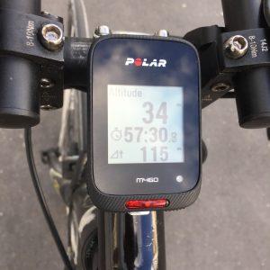 Polar M460 altimètre