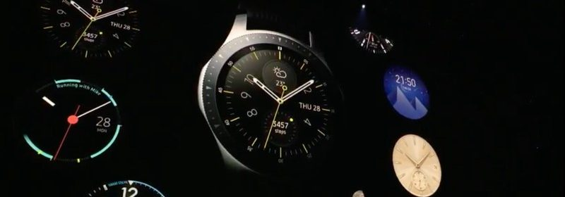 Présentation Samsung Galaxy Watch