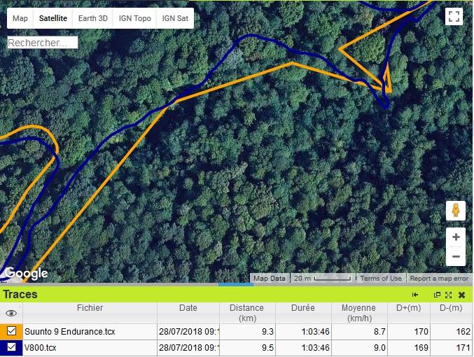 Suunto 9 Endurance trail