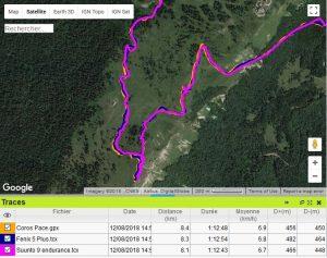 Suunto 9 précision GPS trail