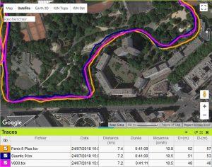 Trace GPS Suunto 9 Spartan