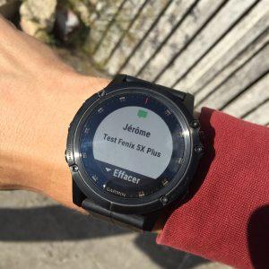 Fenix 5X Plus montre connectée