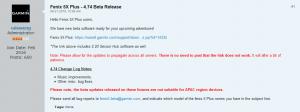 Firmware beta garmin