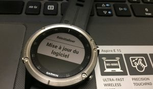 Installer firmware beta Garmin