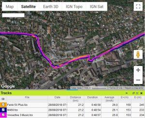 Vivoactive 3 Music GPS vélo ville