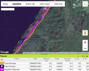 Vivoactive 3 Music meilleure trace GPS