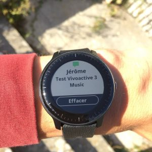 Vivoactive 3 Music montre connectée