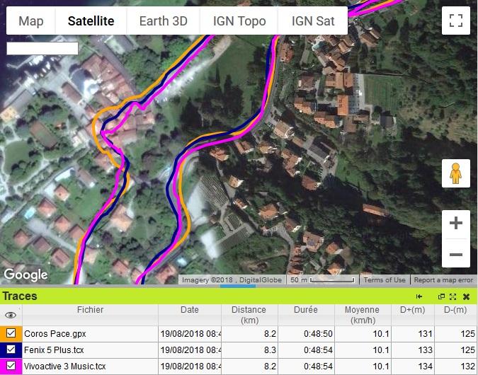 Vivoactive 3 Music trace GPS