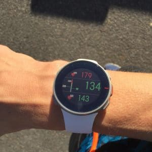 Polar Vantage V triathlon