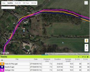 Trace GPS Vantage V