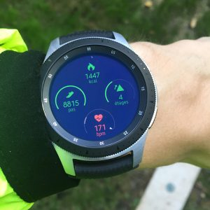 Galaxy Watch suivi activité quotidienne